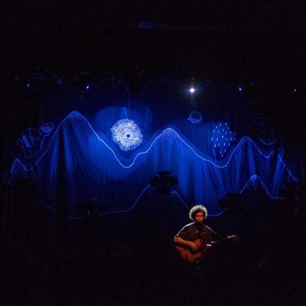 Jose Gonzalez performing at the Tivoli, Brisbane