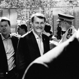 Brisbane Lord Mayor, Graham Quirk