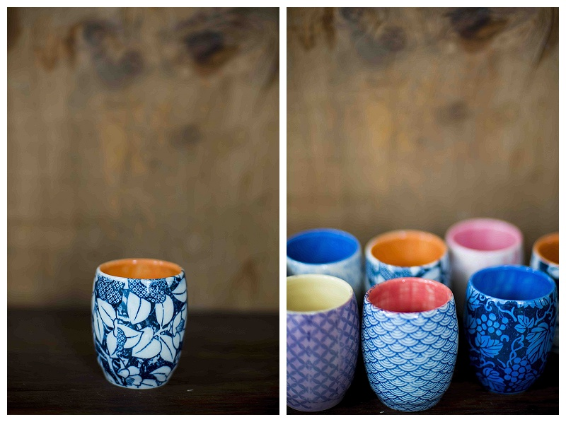 Handpainted vessels