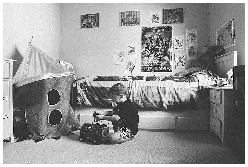 Boy's own bedroom